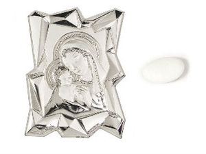 867-2MD PLACCA MADONNA 6,5x9cm