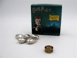 BE8343-1 ANELLO HARRY POTTER ARG. BRONZATO**************