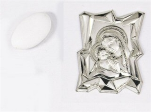 867-1MD PLACCA MADONNA 4,5x6cm